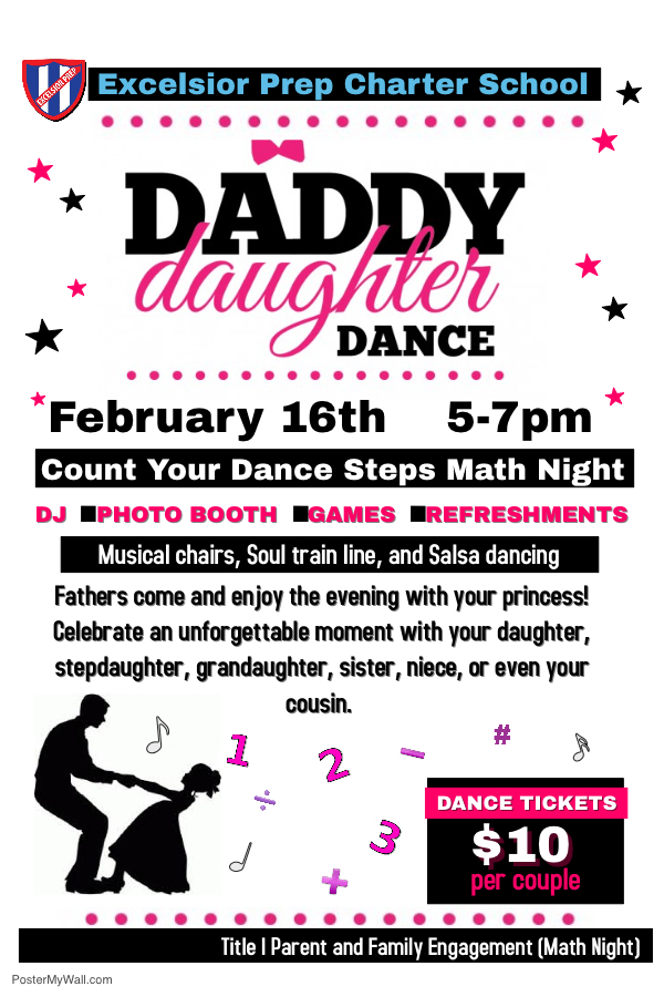 Daddy Daughter Dance - News and Announcements - Excelsior Prep ...